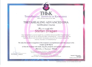 2015 - Curs ThetaHealing Advanced